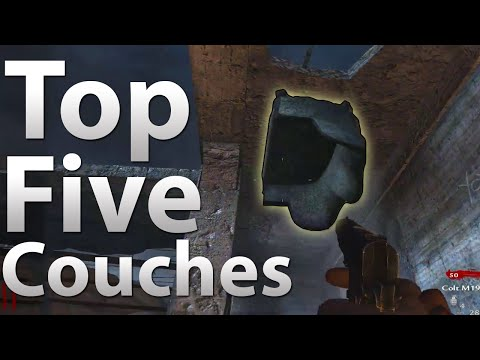 "TOP 5 Couches in ""Call of Duty Zombies"" (TheSmithPlays Top 5 Parody)"