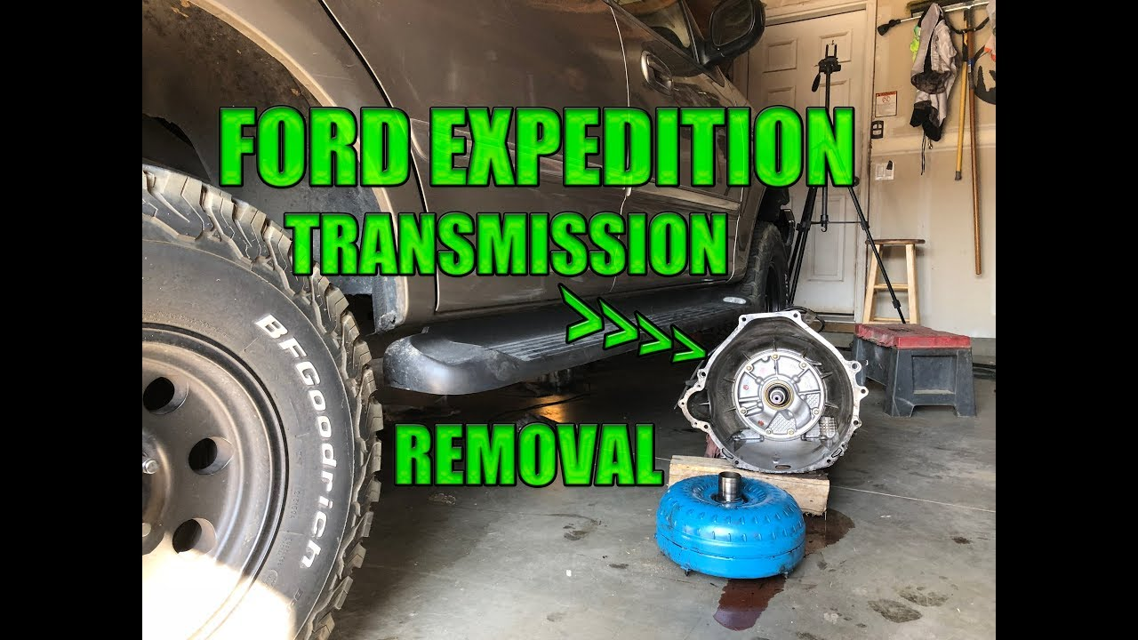 2002 Ford Expedition 4r70w 4r100 Transmission Removal