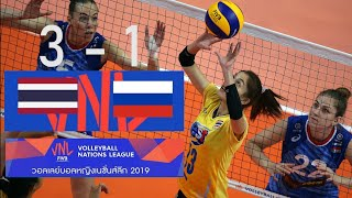 ไทย​ vs รัสเซีย​ | Full Macth | WOMEN'S​ Volleyball​ Nation​ League​ 2019​