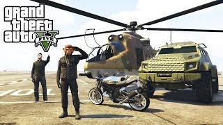 GTA Online - обзор военной и бронированной техники(актуально на 30.05.2016)(гайд по GTA)