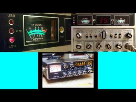 11meterdx Wagga Live Stream 29/1/2018 (27mHz Aussie CB radio) GE Superbase (3-5875A)