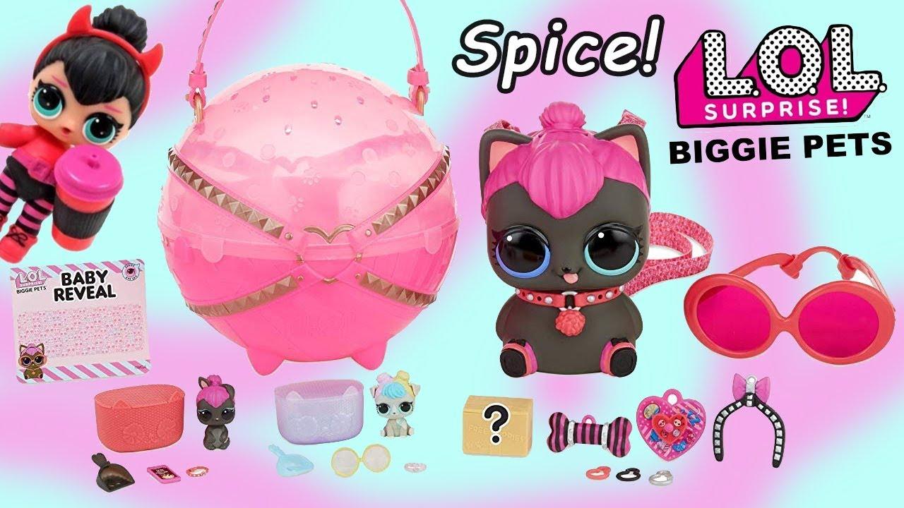 Lol Surprise Biggie Pets Lil Spice Family Entire