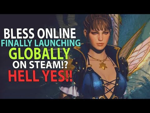 Bless Online - Is This Great MMORPG Finally Launching Globally To Steam!? Hell Yes!!