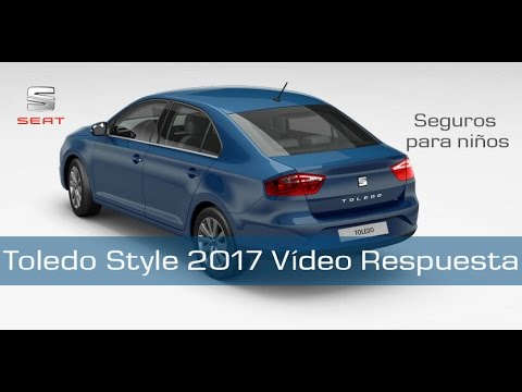 seat toledo style 2017 seguros para ni os v deo respuesta youtube. Black Bedroom Furniture Sets. Home Design Ideas