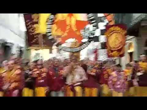 Battaglia delle arance 2009 al carnevale d'Ivrea - MERCENARI