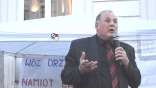 Jan Tomaszewski pod namiotem Solidarnych2010 (cz.2)