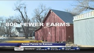 Fewer farms in Kansas