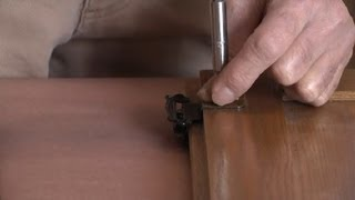 How To Change The Hinge Style On Kitchen Cabinets : Restoring & Painting Kitchen Cabinets