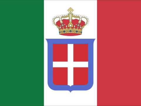 National Anthem of the Kingdom of Italy (vocal)
