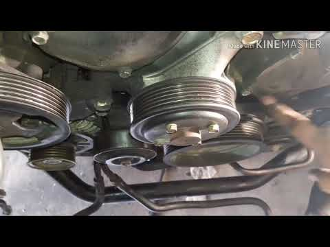 How to replace a serpentine belt- Infiniti G35