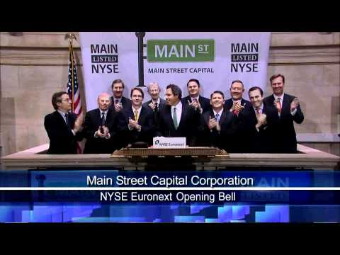 9 Dec 2010 Main Street Capital NYSE Opening Bell