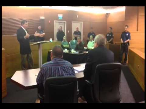 THE BANK OF GUAM ROBBERY TRIAL IS NOW UNDERWAY WITH OPENING STATEMENTS MADE THIS AFTERNOO