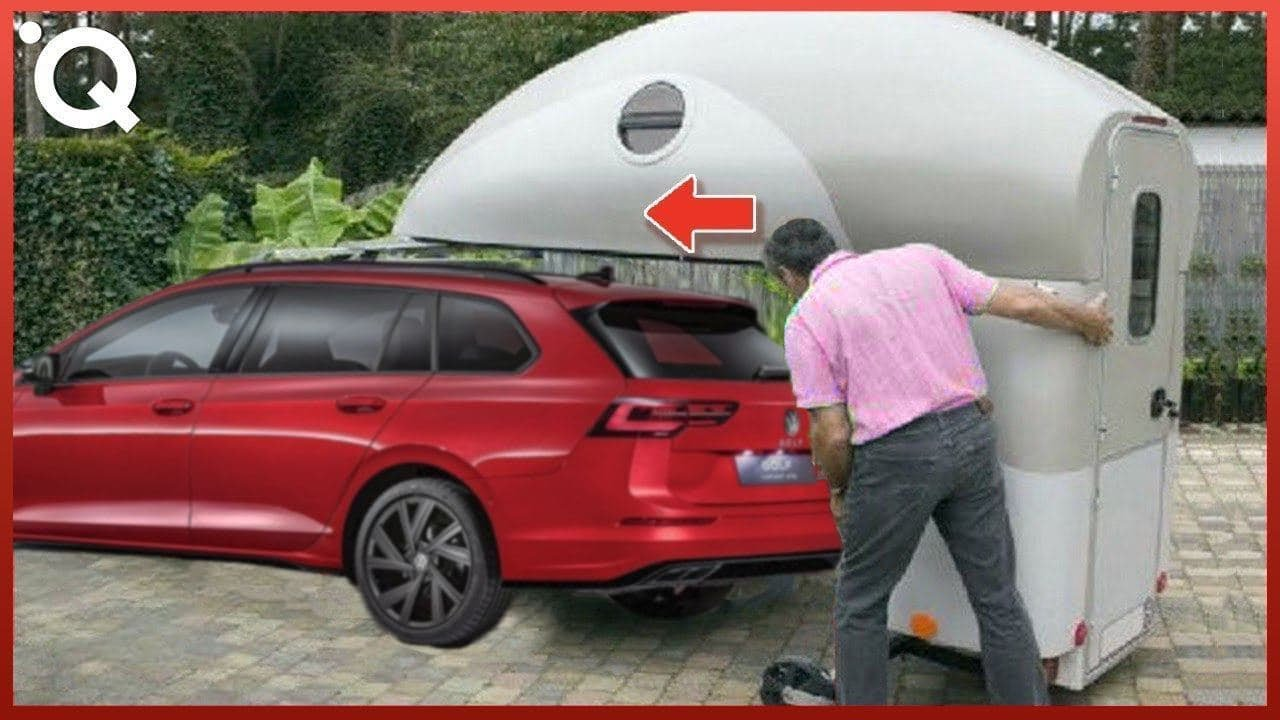 Most Ingenious Camping Vehicles And Space Saving Motorhomes Youtube