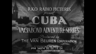 1933 Cuban Travelogue  Havana  Cuba  34874