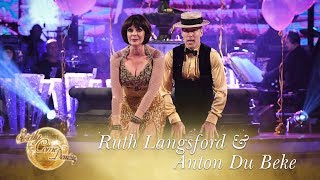 Ruth Langsford and Anton Du Beke Charleston to 'The Charleston' - Strictly Come Dancing 2017