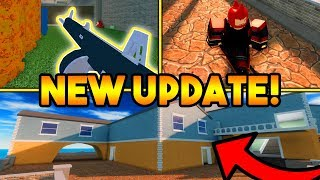 NEW VILLA MAP, 7 NEW WEAPONS, SKINS, ETC! (FALL UPDATE) | ROBLOX: Arsenal
