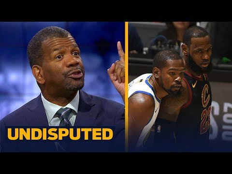 Rob Parker is confident the Warriors will complete the sweep vs LeBron's Cavs | NBA | UNDISPUTED