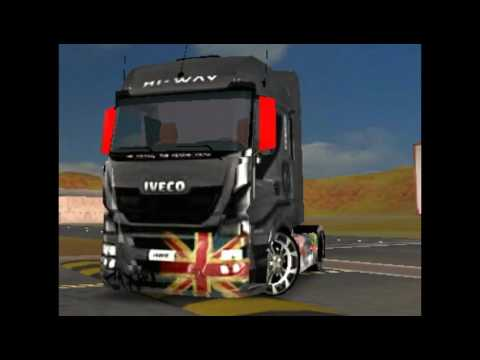 Skin Para Mercedes Actros Grand Truck Simulator >> Skin @Drawn Girl@ for all Mercedes Actros by Gereng Igor