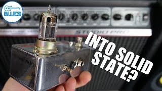 "Turn a Solid State Amplifier into a ""Tube Amp"" with a Tube Pedal?!"