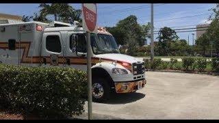 Boca Raton Fire Rescue Medic 5 Response