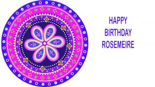 Rosemeire   Indian Designs - Happy Birthday