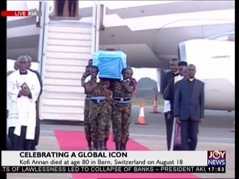 Celebrating a Global Icon on JoyNews (10-9-18)