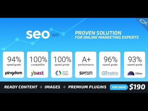 SEO WP - Online Marketing, SEO, Social Media Agency WordPress Theme Review +Download