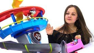 Щенячий патруль спешит на помощь - Видео с игрушками