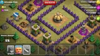 Clash of Clans lvl 6 Giants