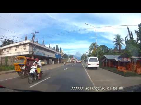 August 26, 2017 Bayawan City, Negros Oriental Philippines, Dash Cam Compilation Front