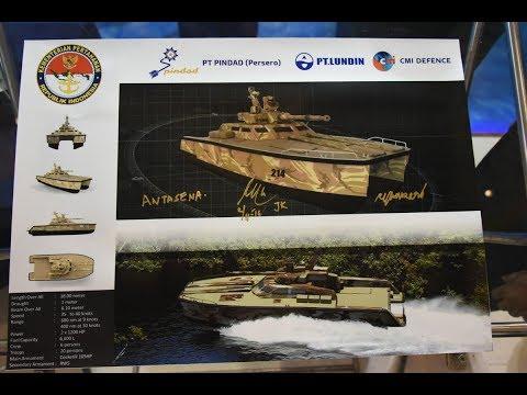 Tank Boat Antasena buatan Pindad