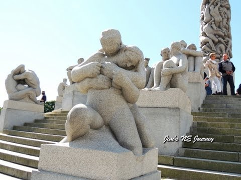 Vigeland Park , Oslo, Norway 維格蘭雕塑公園