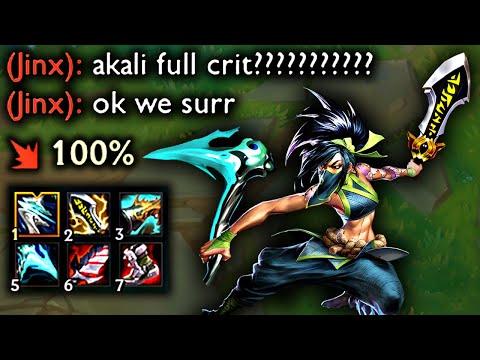 FULL CRIT AKALI