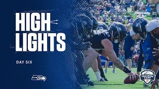 Seahawks 2019 Training Camp Day 6 Highlights