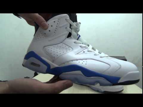 Air Jordan 6 ''Sport Blue''&エアジョーダン6スニーカー!