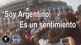 Argentina fans best in the world. World Cup 2015 vs Australia. Hinchada, Los Pumas.