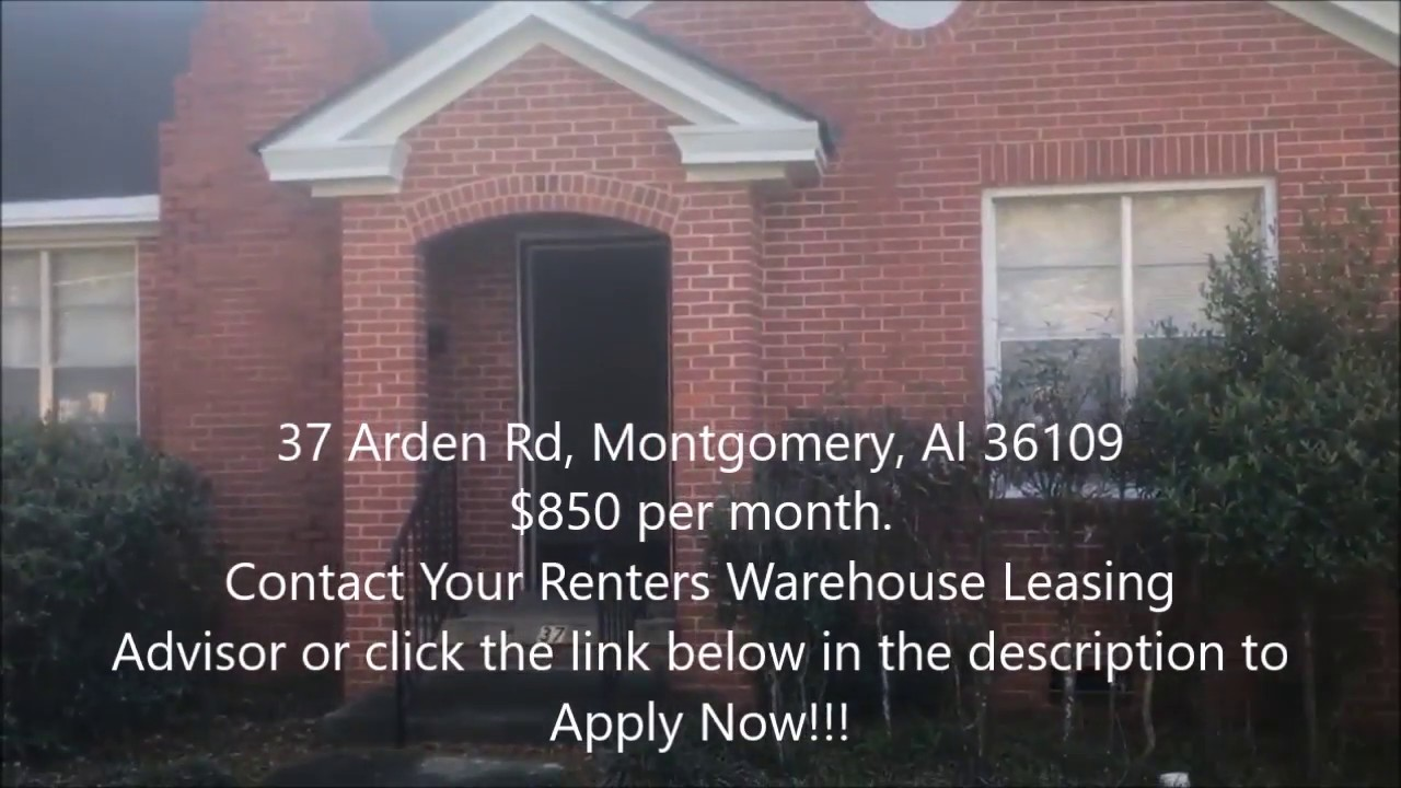 37 Arden Rd Montgomery Al 36109 Virtual Tour Contact Nigel To Apply Now