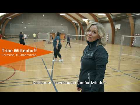 Havebadminton for kvinder i Jelling Badmintonklub