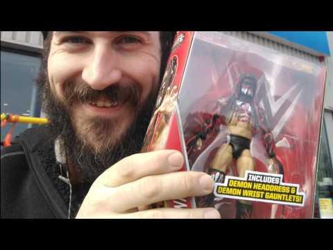 WWE Mattel EPIC Figure Hunt UK 2016 (Smyth's / Toys R Us) - Finn Balor, Dean Ambrose, Seth Rollins