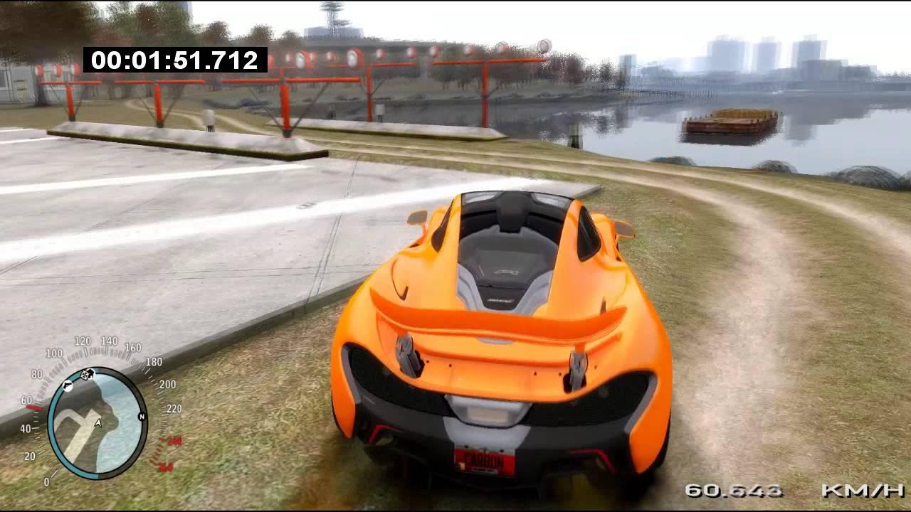 GTA IV Mclaren P1 Test + Engine Sound - YouTube