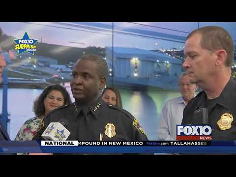 FOX10 Surprise Squad: Students surprise the dancing MPD officer
