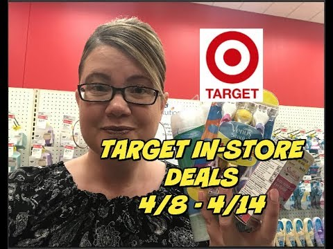 TARGET IN-STORE DEALS 4/8 - 4/14 ~ Lots of great deals this week!