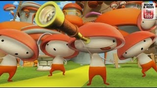 Boom & Reds - Cartoon to play with kids, what do they draw? - trumpet