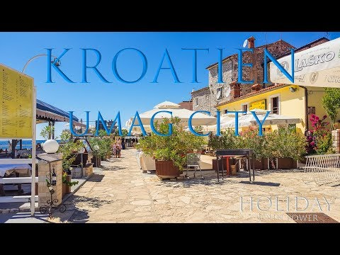 Umag City Kroatien ( 4K Dji Osmo ) 2016 Holiday