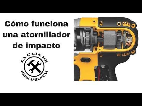 Cómo funciona un atornillador de impacto