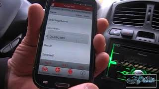 checking Hyundai SantaFe with Launch Easydiag PRO 3.0