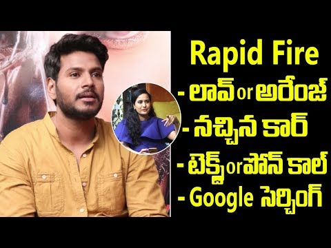 rapid-fire-with-sundeep-kishan-|-sundeep-kishan-exclusive-interview-|-friday-poster