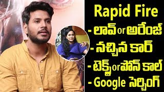 Rapid Fire With Sundeep Kishan | Sundeep Kishan Exclusive Interview | Friday Poster