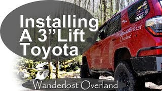 How To Install a Lift Kit On a 5th Gen 4Runner-All The Details