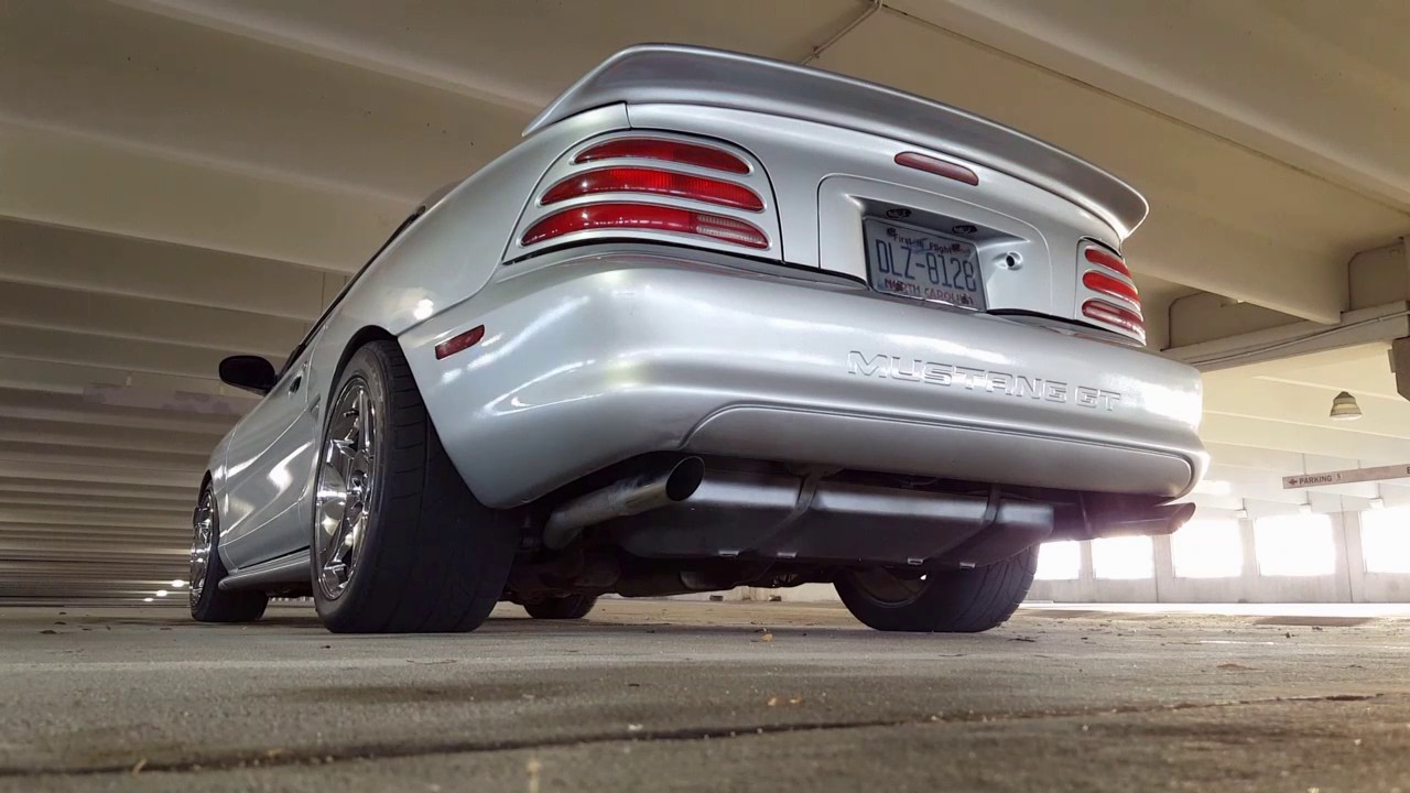 small resolution of 1994 mustang gt exhaust dynomax mufflers